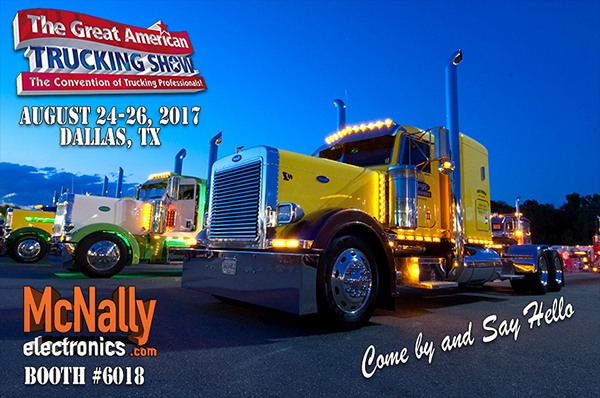 McNally is Going to GATS - Great American Trucking Show
