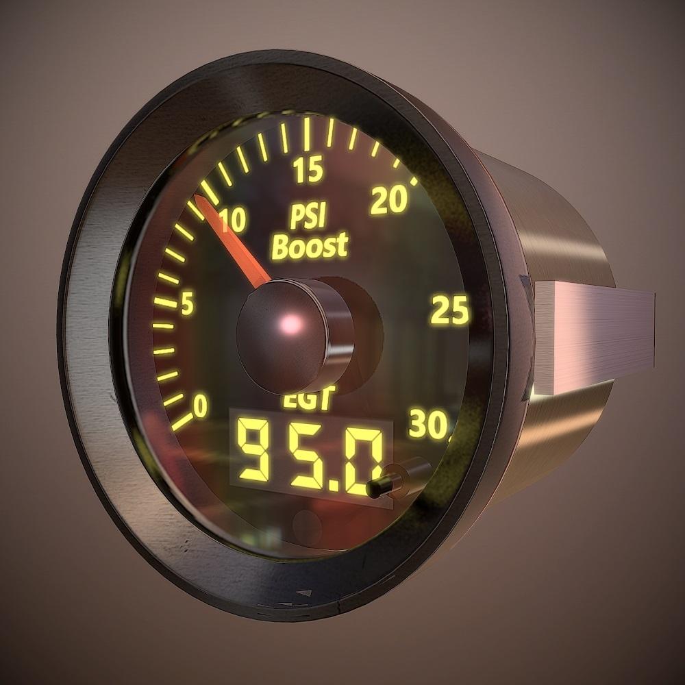 Mcnally Boost  Egt Auto Gauge Combo Kit