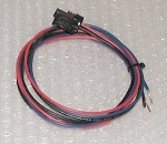 Pressure sensor pinned cable