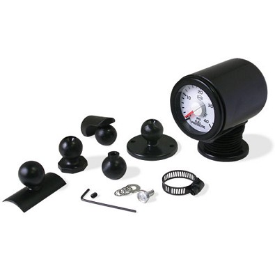 5 Mount Universal Auto Gauge Kup  (2 1/16th inch , 52mm)